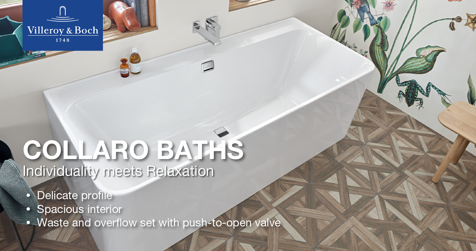 Villeroy & Boch Collaror Bathtubs
