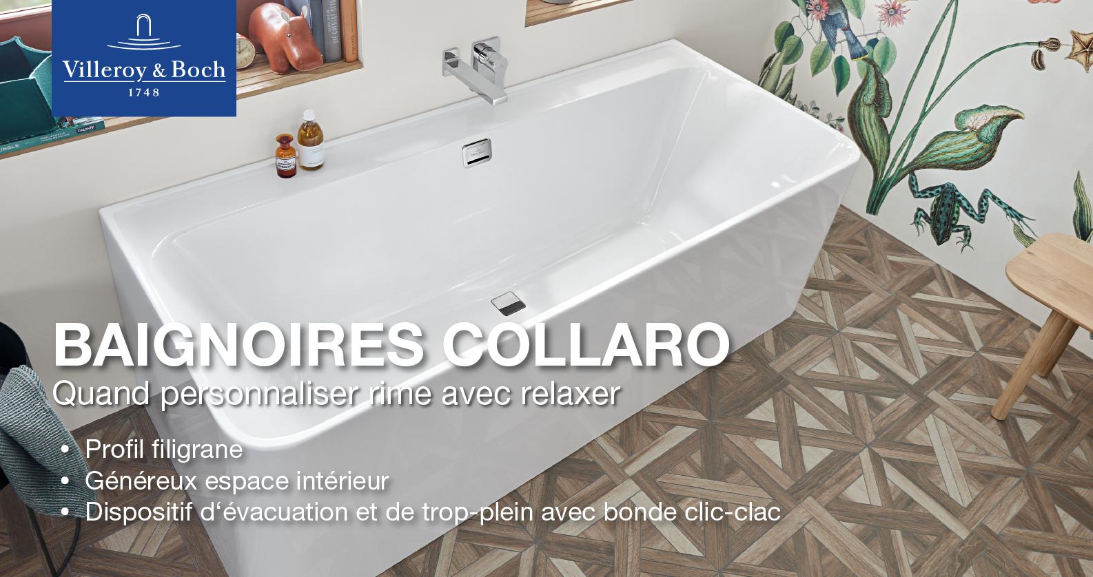 Villeroy & Boch Collaror Baignoires