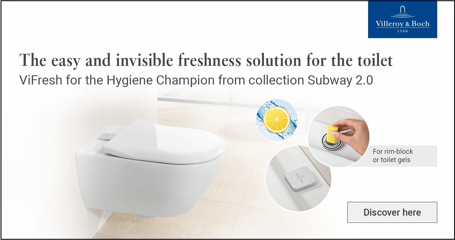 Villeroy & Boch Subway 2.0 at xTWOstore