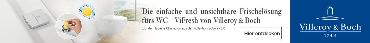 Villeroy & Boch Hygiene Champion bei xTWOstore