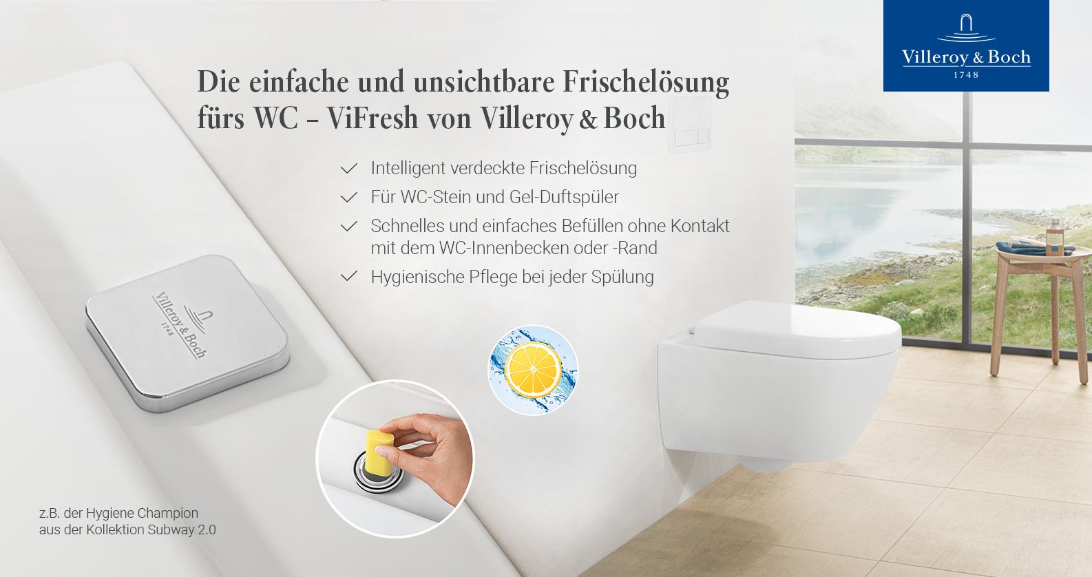 Villeroy & Boch Hygiene-Champion
