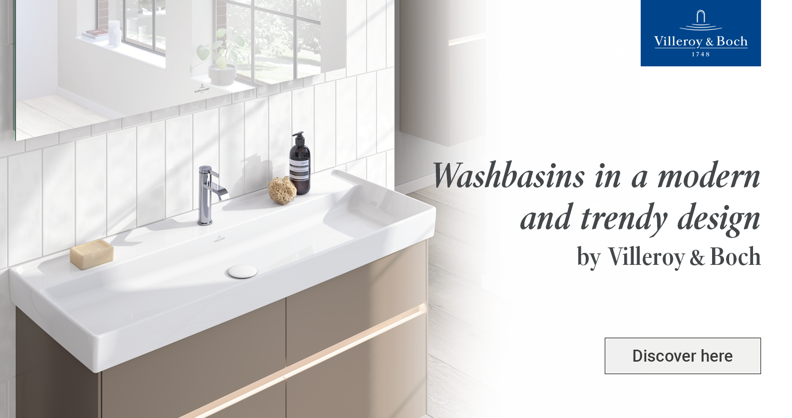 Villeroy & Boch washbasins at xTWOstore