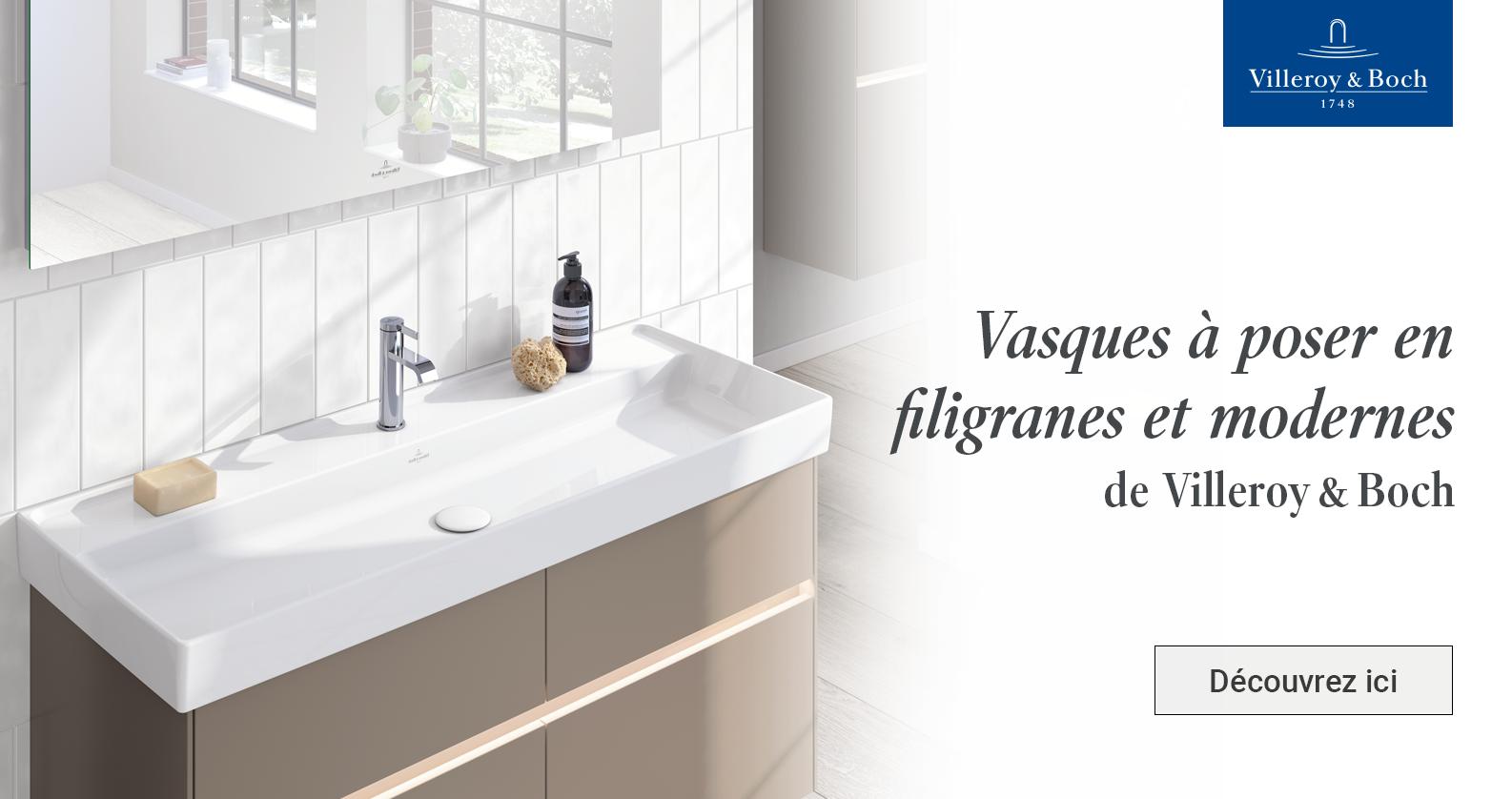 Villeroy & Boch lavabos chez xTWOstore