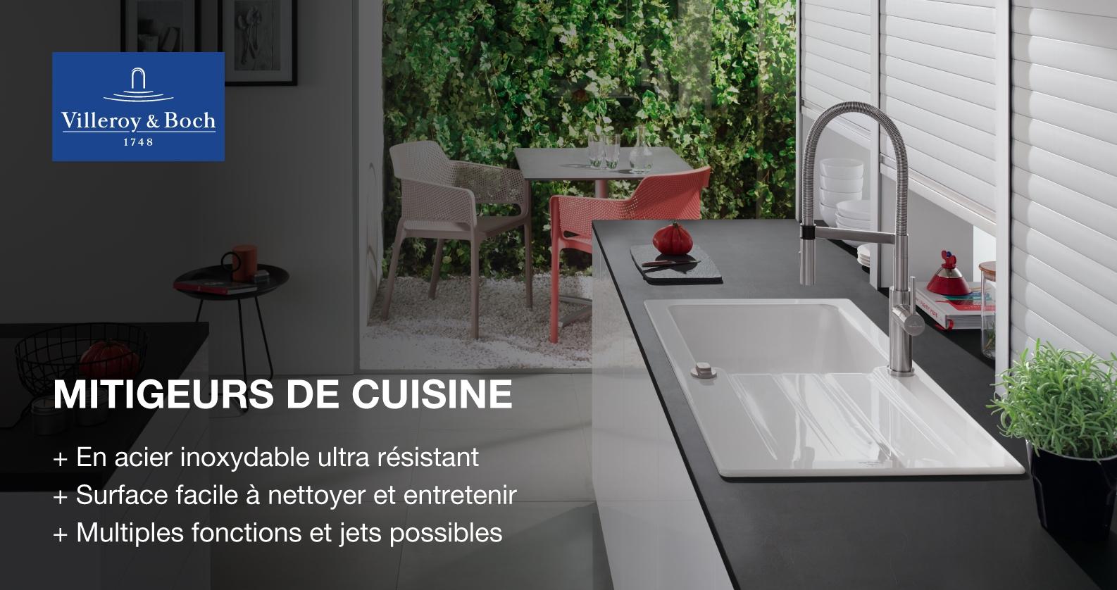 Robinetteries de cuisine Villeroy & Boch