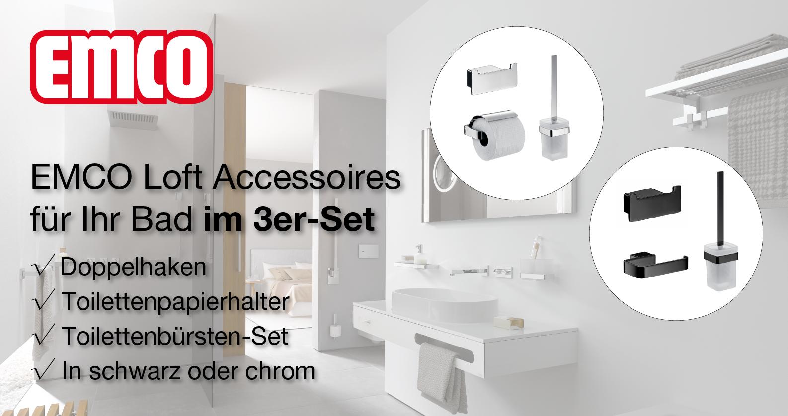 EMCO Loft Accessoires-Sets