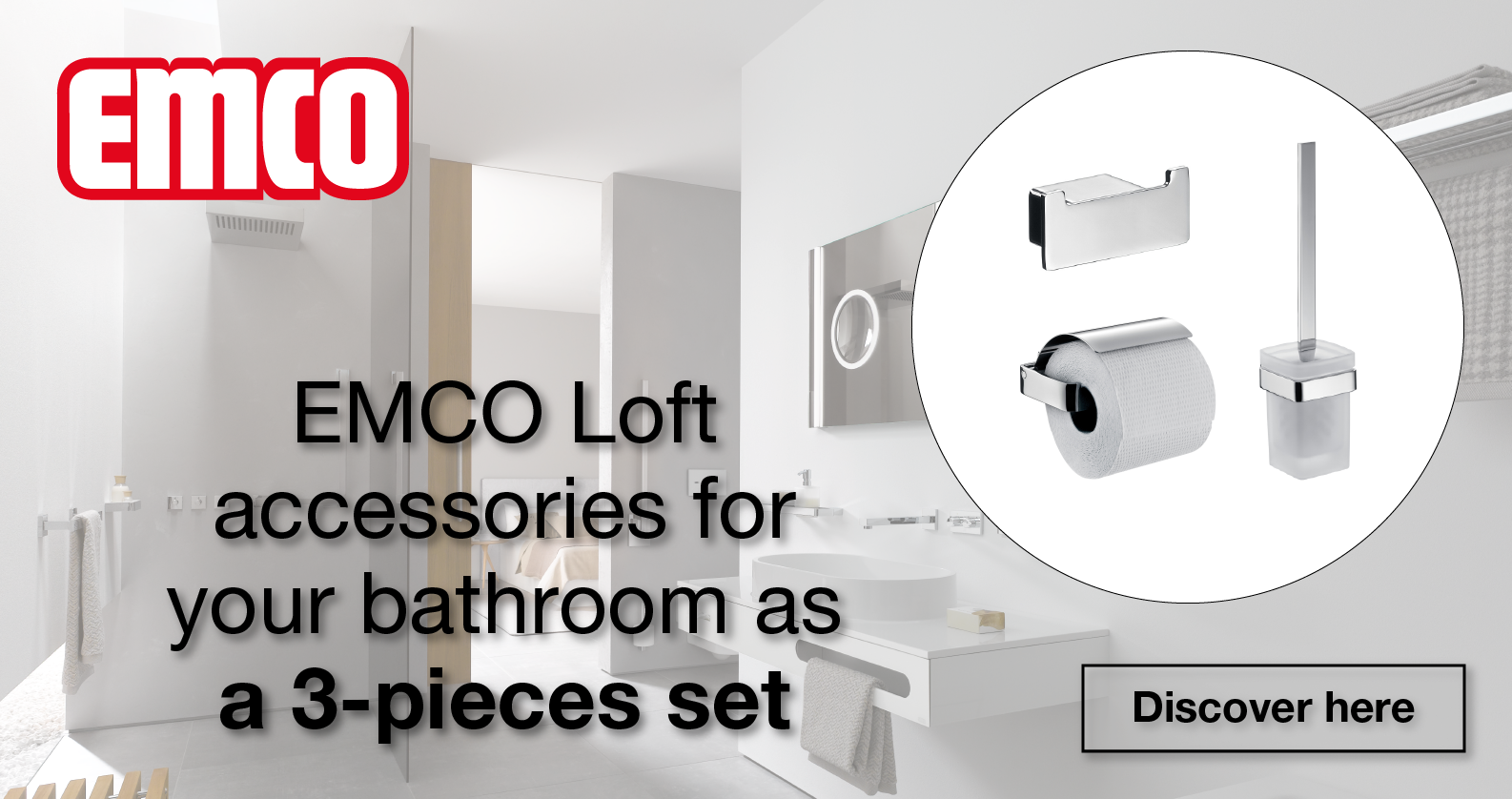 EMCO Loft Accessories Sets at xTWOstore
