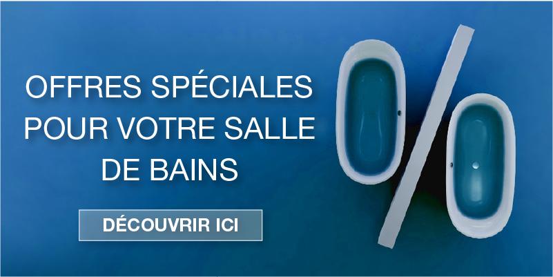 Offres spéciales pour les salles de bains chez xTWOstore