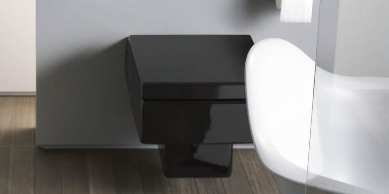 Duravit Vero Wand-WC schwarz
