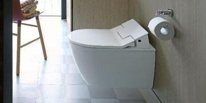 Duravit Darling New Shower WC Sensowash at xTWOstore