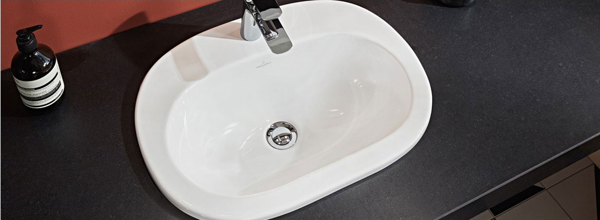 Drop-in washbasins