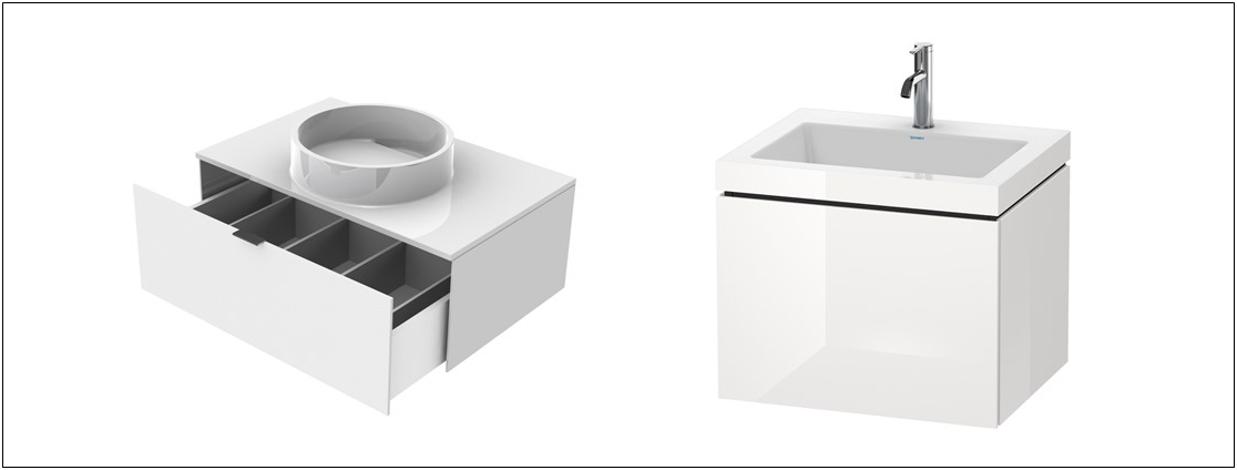 Waschtischunterschränke mit Waschtisch