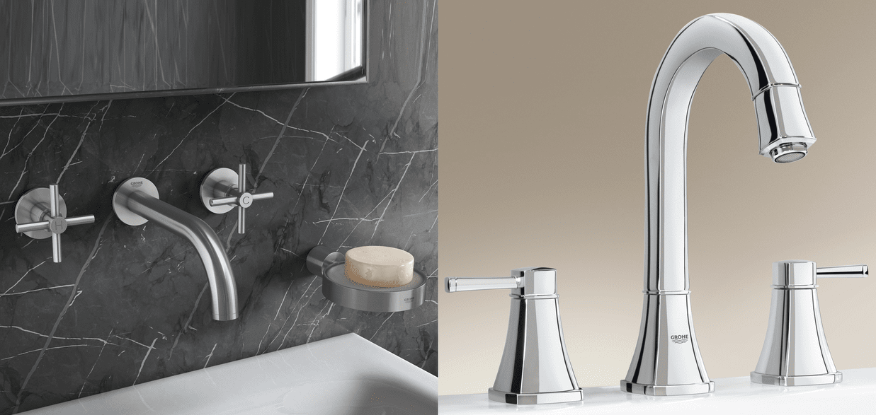GROHE 3-Hole Basin Taps