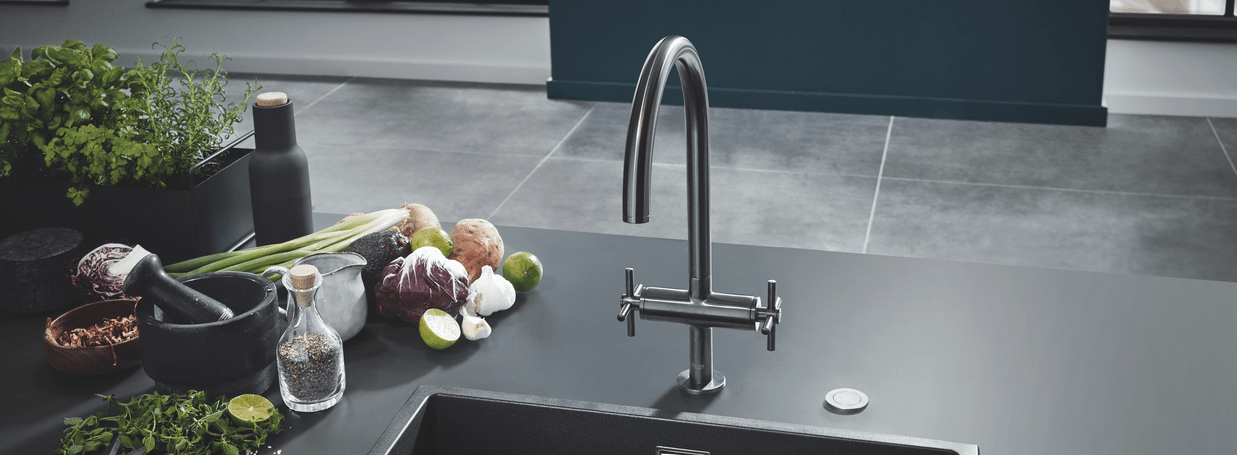 2-handle kitchen mixers from GROHE
