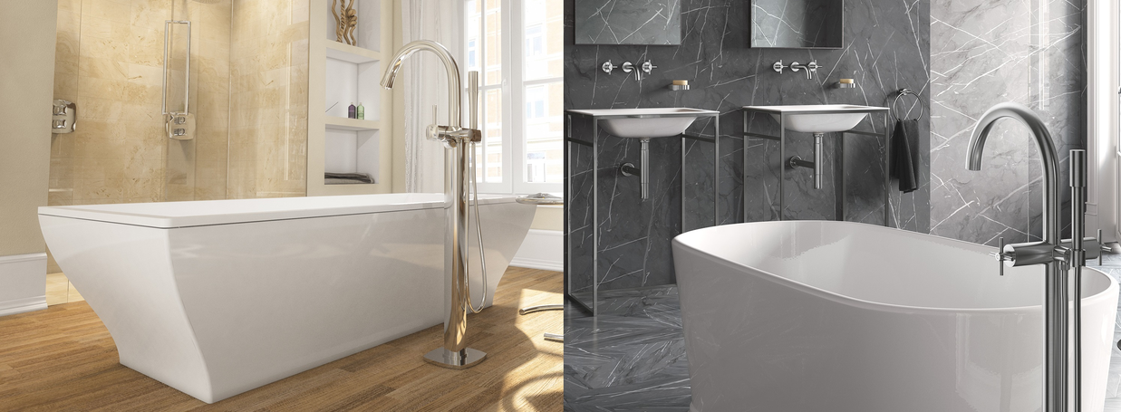Floor standing Bathub Taps from GROHE