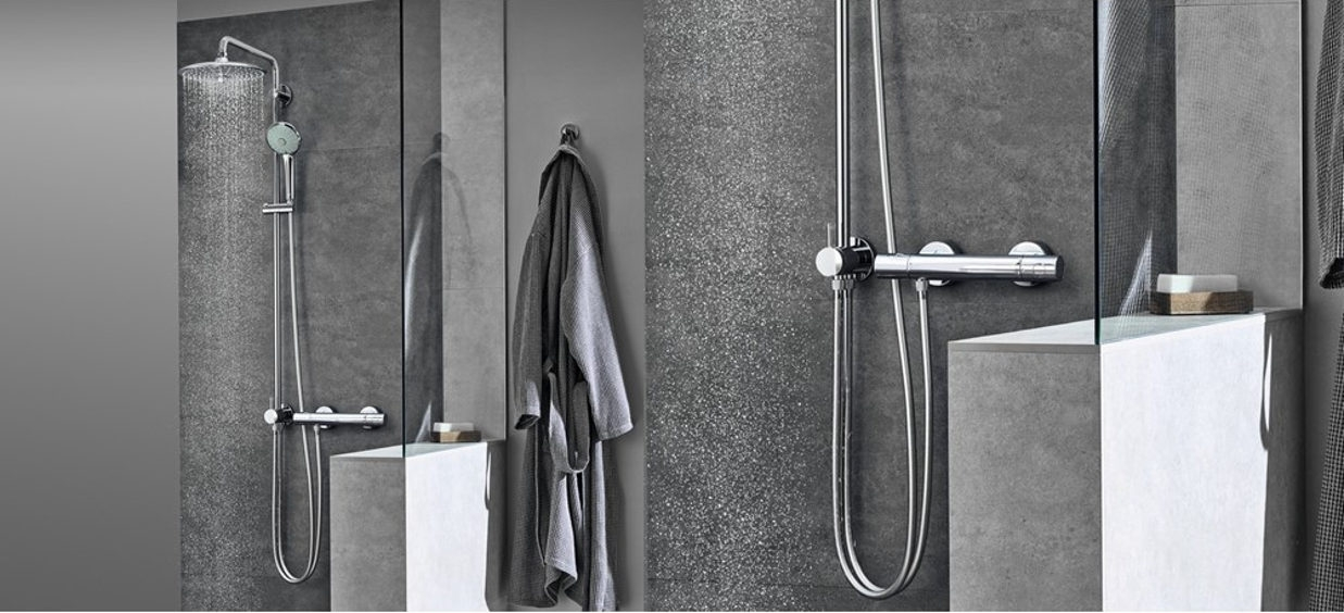 Grohe sistemas de ducha con desviador