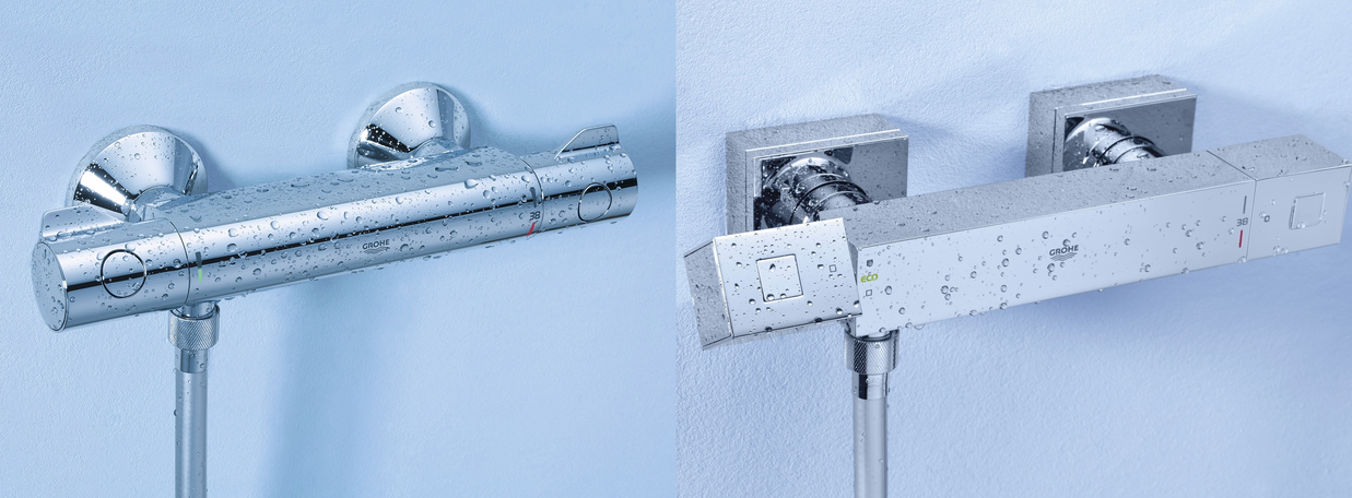 Thermostatic shower mixers from GROHE