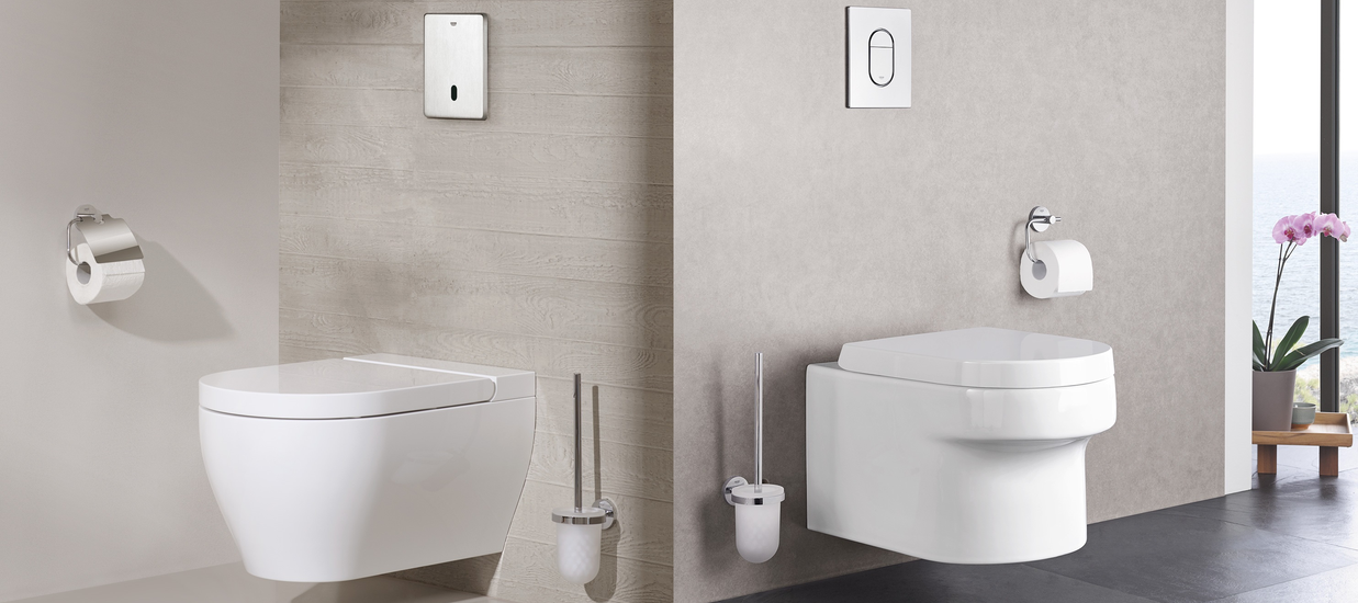 Wall-Mounted Toilets from GROHE