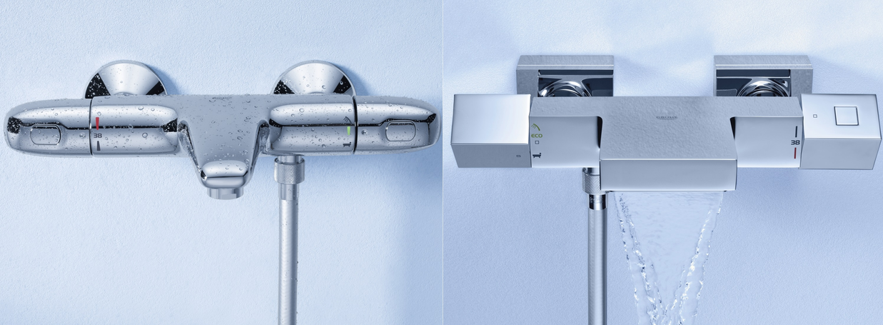 Thermostatic Bathtub Taps from GROHE