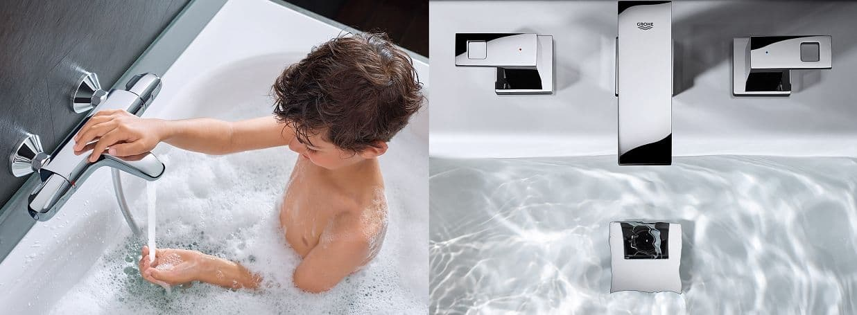 2-Handles Bathtub Taps from GROHE
