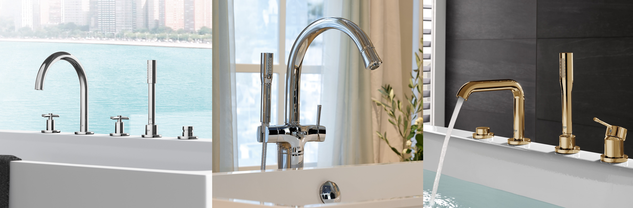 Bathtub Taps from GROHE