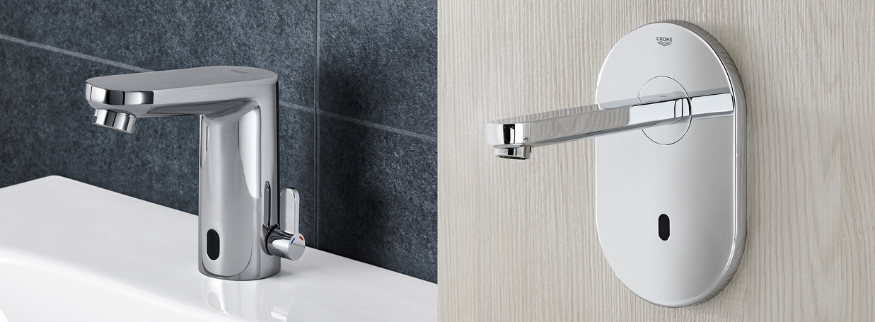 Electronic Basin Taps from GROHE