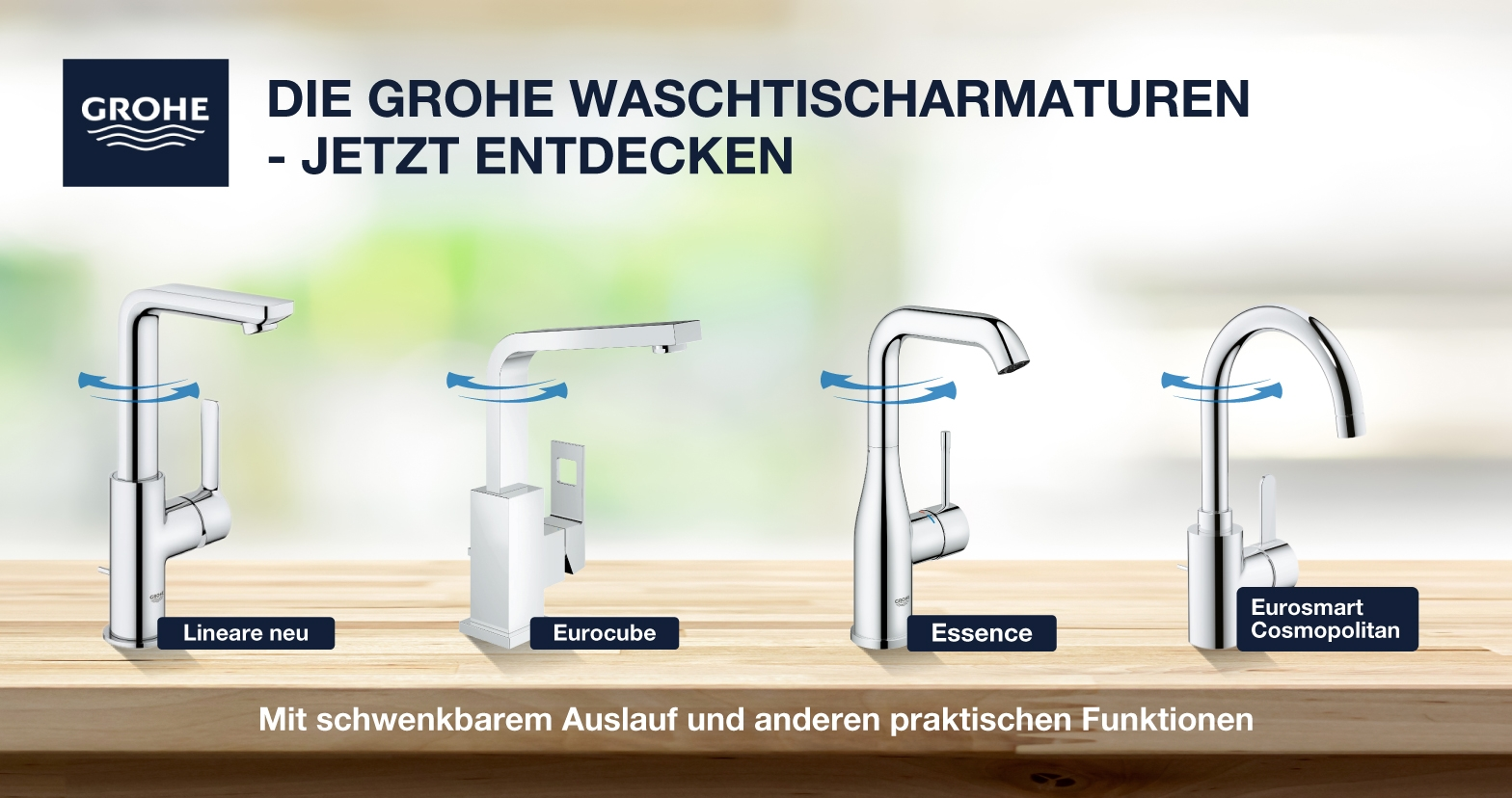 GROHE Top Armaturen-Serien