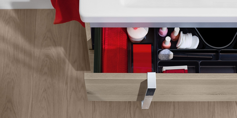 burgbad Eqio Storage Space Vanity Unit at xTWOstore