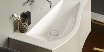 burgbad Sinea 2.0 Waschbecken weiß Schwung
