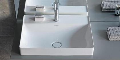 Duravit DuraSquare Aufsatzwaschbecken Draufsicht