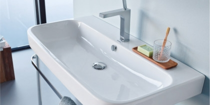 Duravit Happy D.2 Waschbecken Close-Up