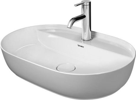 Duravit Luv Countertop Basins with Tap Ledge at xTWOstore
