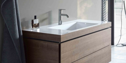 Duravit Vero Air Built-in Washbasins with c-bonded technology at xTWO