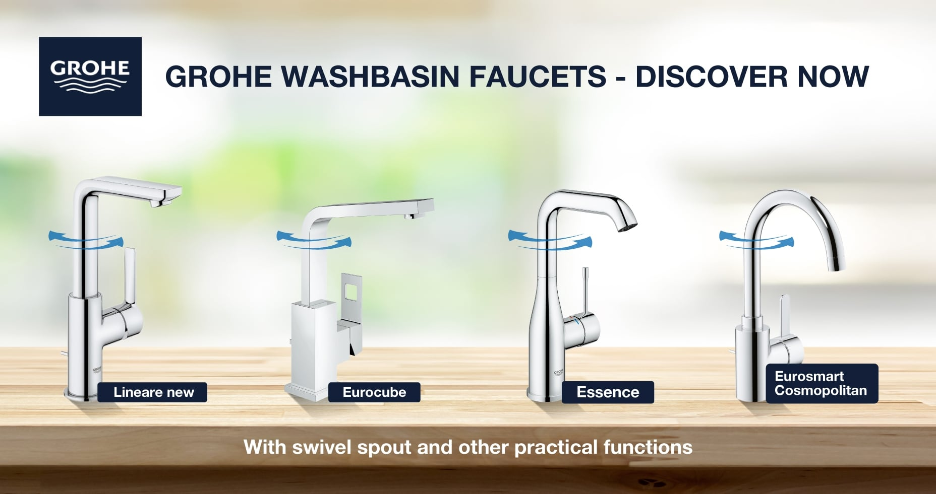 Top Faucet Series Of Grohe Xtwo
