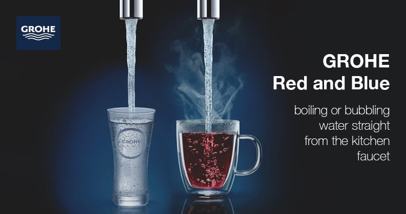 GROHE Red and Blue