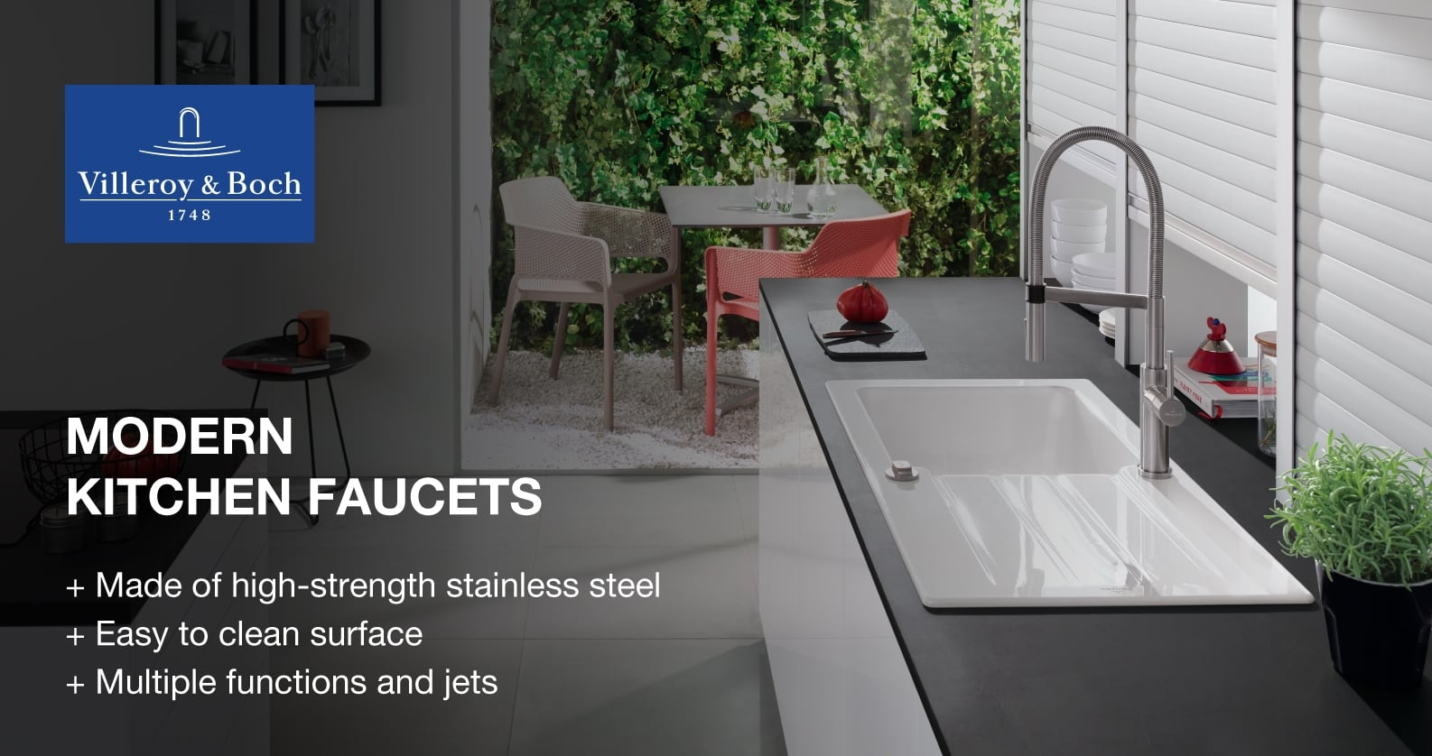 Villeroy & Boch kitchen faucets