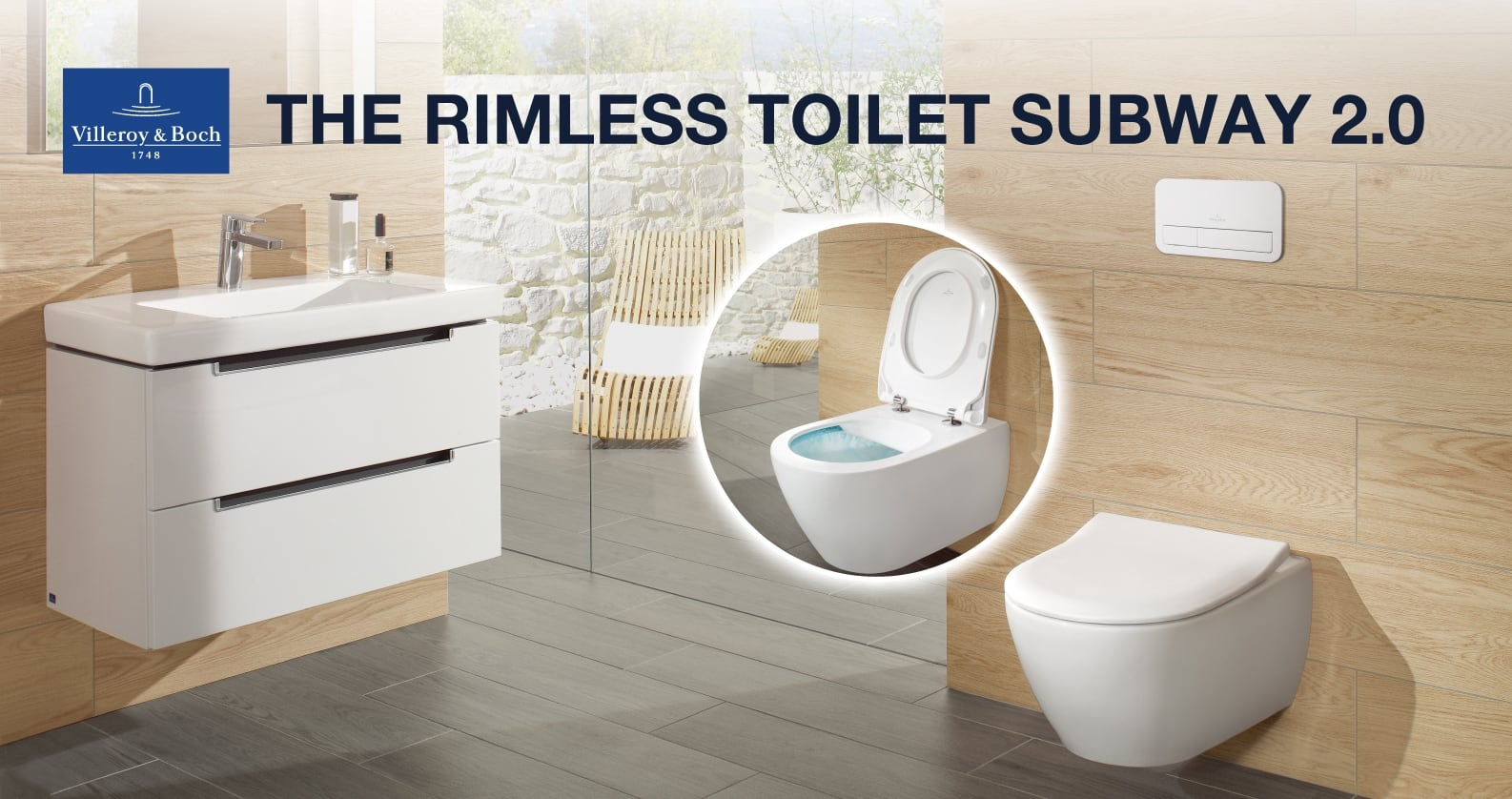 Villeroy & Boch Subway 2.0 WC with DirectFlush