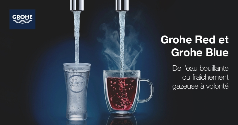 GROHE Red et Blue