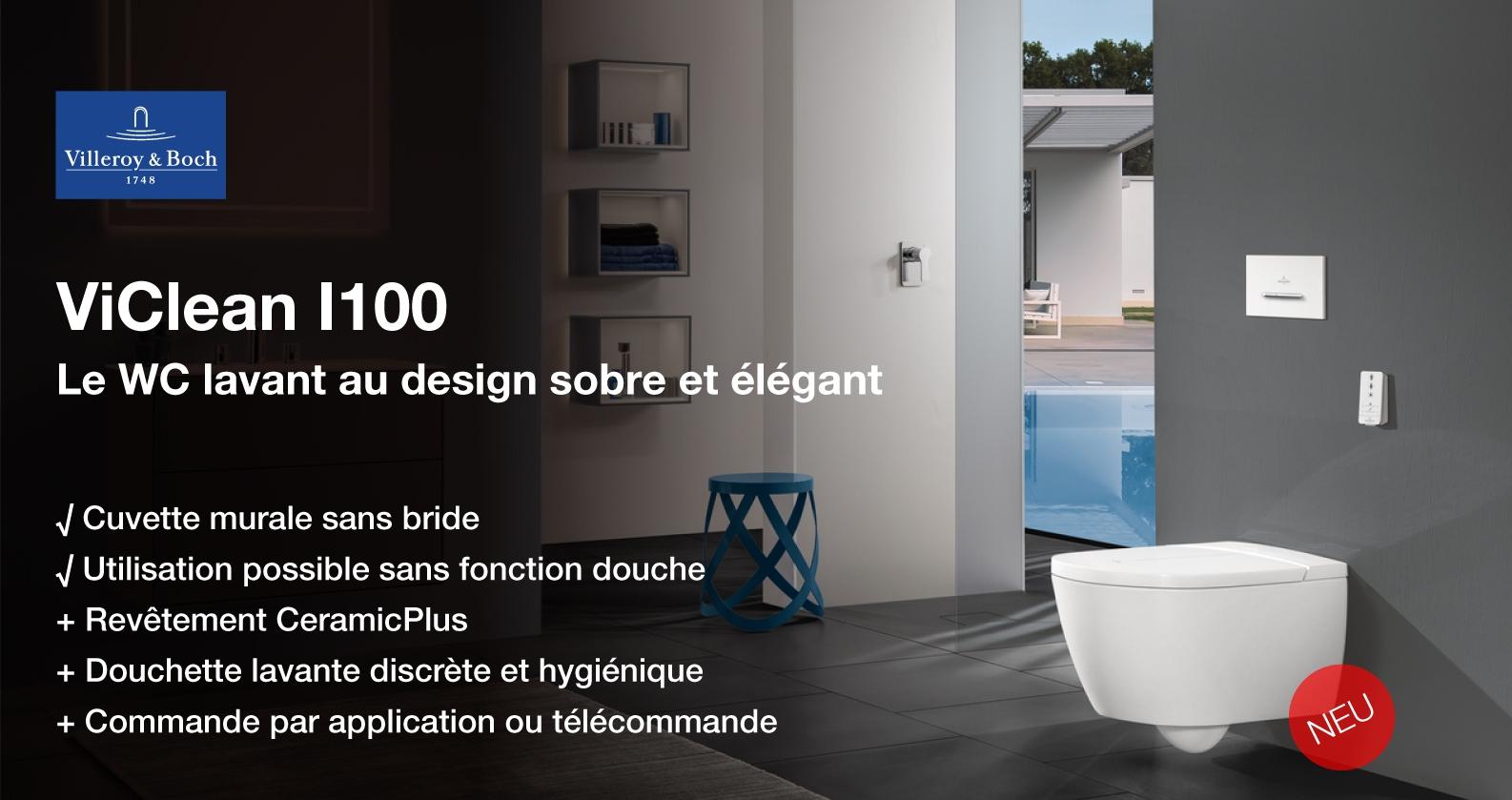 Villeroy & Boch ViClean wc lavant