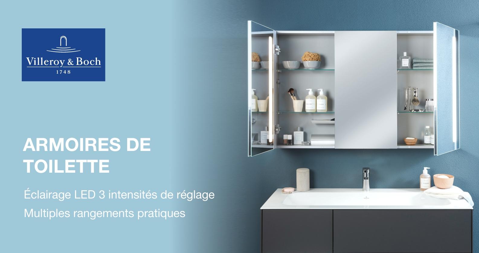 Villeroy & Boch Armoires de toilette chez xTWO