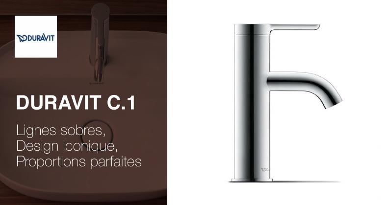 Duravit C.1 robinetterie